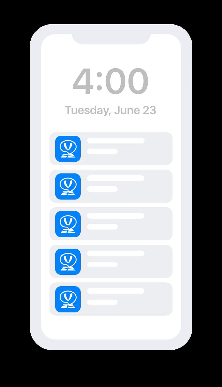 activity notification