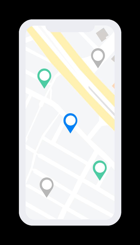 customer maps